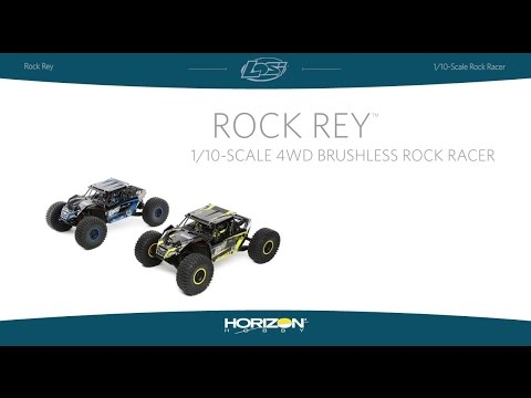 Losi 1/10 Rock Rey 4WD RTR With AVC