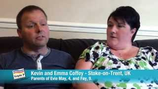 Kevin and Emma Coffey, UK