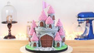 EASY PRINCESS CASTLE CAKE - Tan Dulce