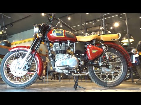 #Bikes@Dinos: 2016 Royal Enfield Classic 350 Chestnut Colour Walkaround Review
