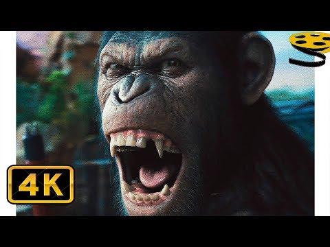 """НЕТ!"" Цезарь против Доджа Лэндона | Восстание планеты обезьян (2011) HD"