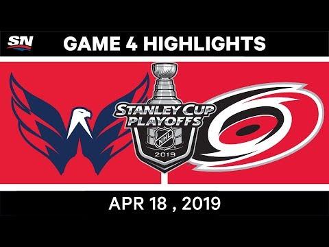 NHL Highlights | Capitals vs Hurricanes, Game 4 – April 18, 2019