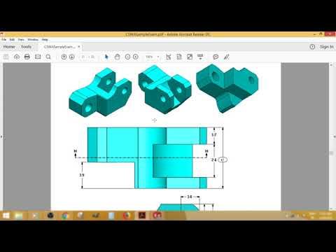 solidworks cswa sample exam part1 - YouTube