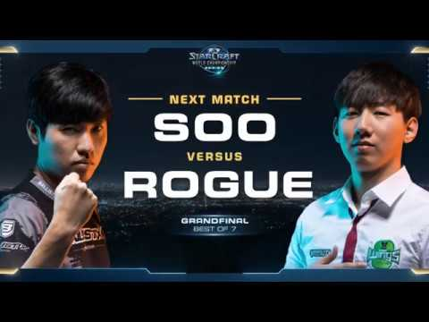 Starcraft 2 esports finals soO vs Rogue