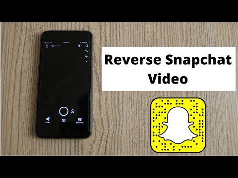 How To Use Snapchat Video Filters Reverse Fast Forward Slow Mo Snapchat Tutorial Youtube