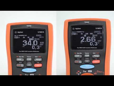 Motor Windings Insulation Resistance Test Demo (Part 2)