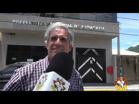 Pastor Luiz da Associação dos moradores do Bairro Serra do cafezal de Miracatu faz protocolo na Prefeitura sobre as Melhorias para o Bairro.