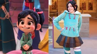 Wreck-It Ralph 2 Characters in Real Life 2018 / Ralph Breaks the Internet