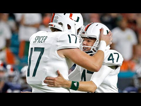 UM wide receiver K.J. Osborn admits he didn't know who was kicking field goals