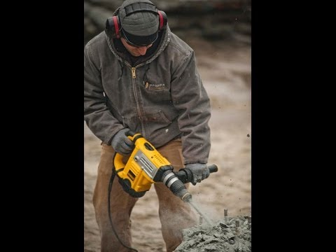 Head To Head Testing 1-9/16 SDS MAX  Rotary Hammer Testing