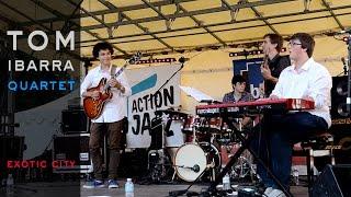 Exotic City-composition Tom Ibarra-Scène Action Jazz Bordeaux-Fête de la Musique 21 juin 2015
