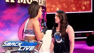 """Nikki Cross grills Bayley on """"A Moment of Bliss"""": SmackDown LIVE, July 2, 2019"""