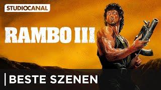 Die besten Szenen aus Rambo III - mit Sylvester Stallone