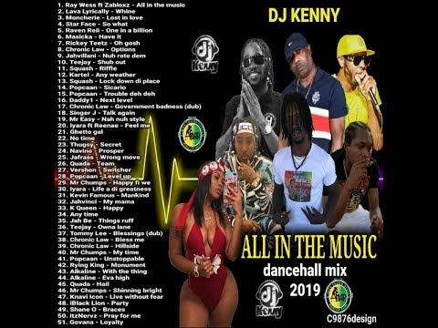 DJ KENNY NO LIMIT DANCEHALL MIX JAN 2019 - FRENCHMAN REGGAE