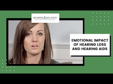 Emotional impact of hearing loss and hearing aids