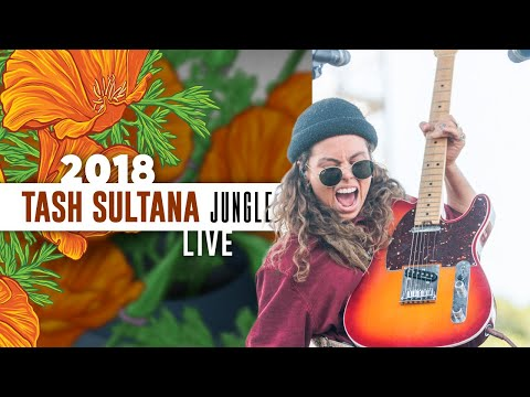 Tash Sultana &quotJungle&quot (Live) - California Roots 2018