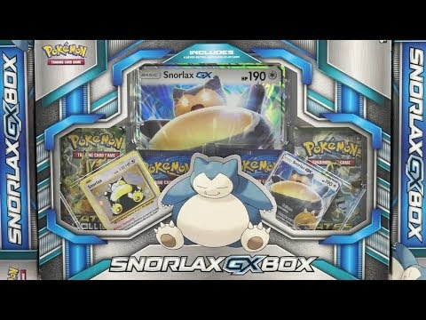 Opening 8x Pokemon TCG: Snoooorlax Collection Boxes