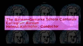 Bach / Collegium Aureum, 1970: Motet 7, Sei Lob und Preis mit Ehren, BWV 167