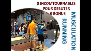 RUNNING : 3 EXERCICES DE MUSCULATION INCONTOURNABLES POUR DÉBUTER + 3 BONUS