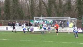 preview picture of video 'Vauxhall Motors 1 Worcester City 0 (25 01 14)'