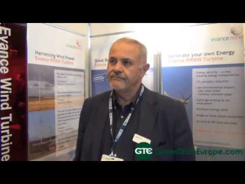 Evance Wind Interview: Small-scale wind power