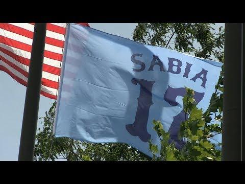 Chris Sabia Memorial Flag at Cubeta Stadium - 2019 - REVISED
