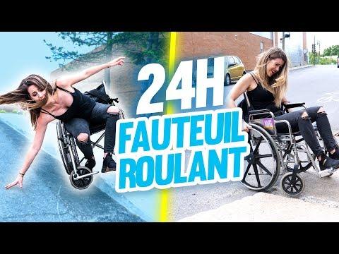 VIVRE EN FAUTEUIL ROULANT PENDANT 24H | DENYZEE