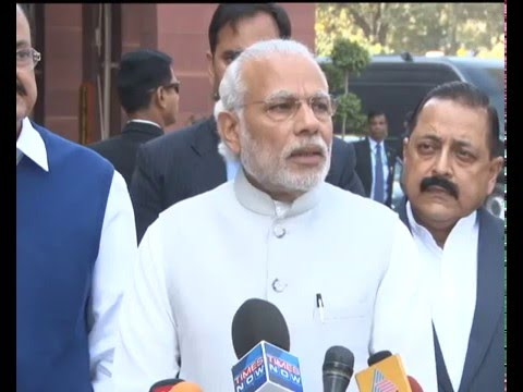 PM Modi's statement to the Media ahead of Budget Session of Parliament