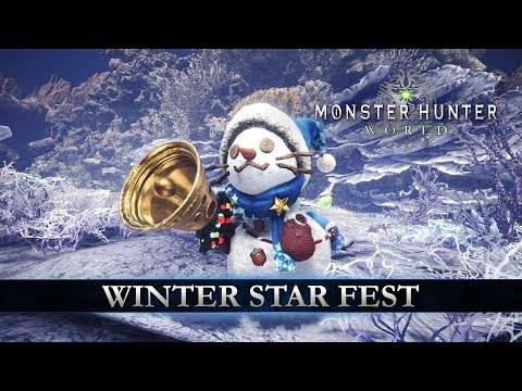 Winter Star Fest de Monster Hunter World
