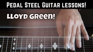 """Pedal Steel intro lesson for """"Just Give a Lonely Heart a Home"""" Faron Young lesson."""