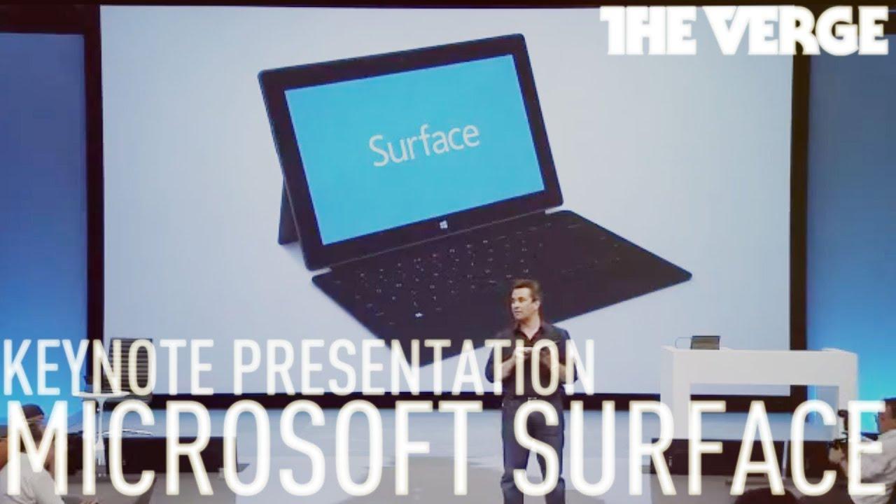 Microsoft Surface Keynote thumbnail