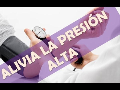 Medición de la presión arterial tal que la presión superior e inferior