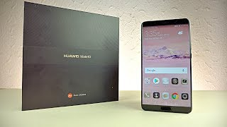 Huawei Mate 10 -  Unboxing & First Look!