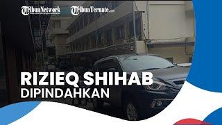 Rizieq Shihab Dipindahkan ke Rutan Bareskrim, Dijaga Pasukan Bersenjata Laras Panjang