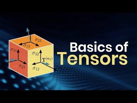 Basics Of Tensors | Eduonix