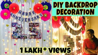 DIY Party Decoration Ideas | Easy Anniversary Decoration | Birthday Decoration | Home Decor Ideas