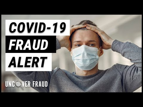 Covid -19 Fraud Alert. Don't be a victim from a Certified Fraud ...