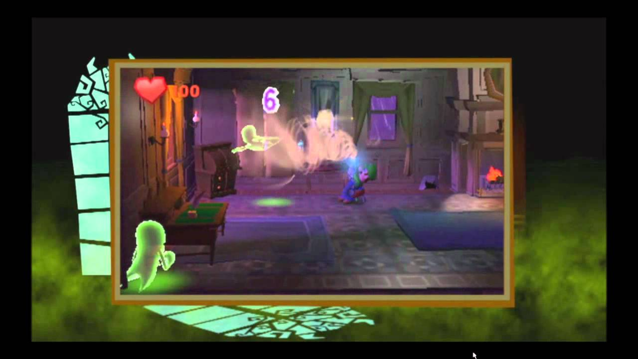 Luigi Sucks Anew In Luigi's Mansion 2