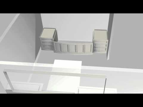 Woodland Artisan Cabinetry Master Bath Concept Animation