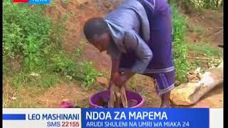 Ndoa za mapema: Mshichana arudi shuleni baada ya kuolewa mapema