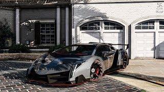 Siêu Xe Trong GTA 5 Lamborghini Veneno LP750-4 Chạy 470 Km/h Và Vụ Tai Nạn Kinh Hoàng