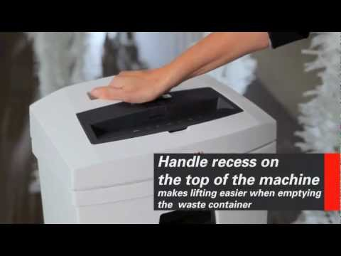 Video of the HSM SECURIO C16 Shredder