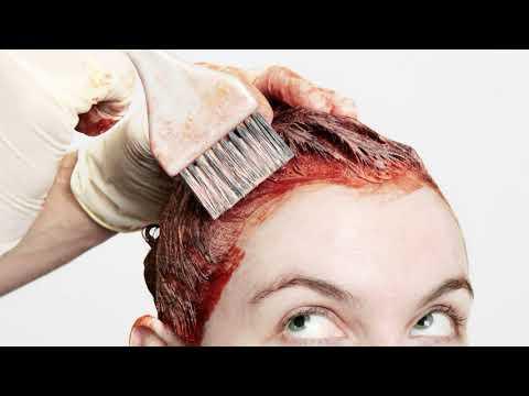 Как отмыть краску для волос с кожи лица, головы, рук в домашних условиях