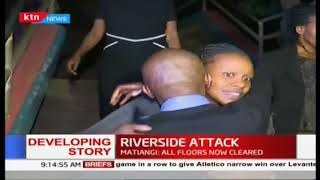 Relief evident as families of victims rescued overnight reunite   Riverside Attack
