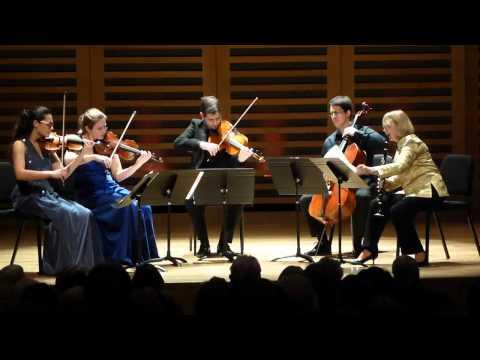 Peter Fribbins Clarinet Quintet