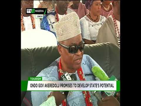 Akeredolu promises to develop Ondo tourism potential