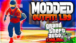 GTA 5 ONLINE *CREATE A MODDED OUTFIT!* USING EASY CLOTHING GLITCHES 1.39