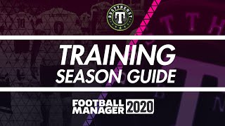 How to setup a Season's Training on Football Manager 2020