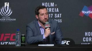 UFC Fight Night Singapore: Senior VP Joe Carr - Sharing Asian Market with ONE Championship