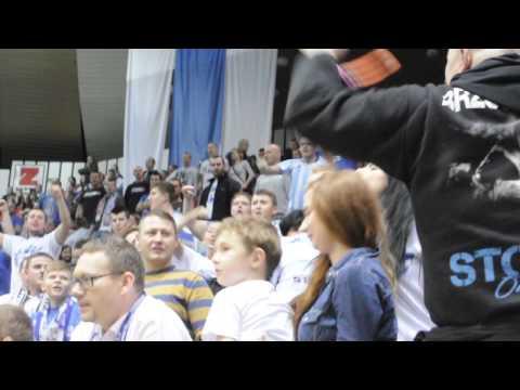 Piotr Skiba poprowadził doping podczas Stomil Cup